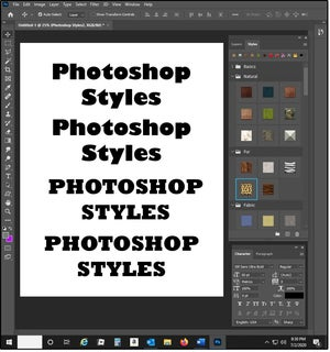 02 how to use photoshop styles