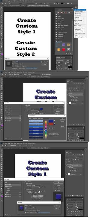04 how to create custom photoshop styles