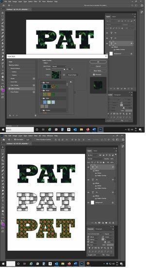 05 how to add patterns to my photoshop styles