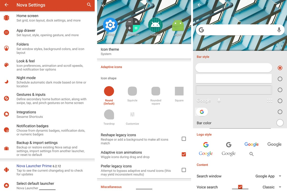 android makeover launcher