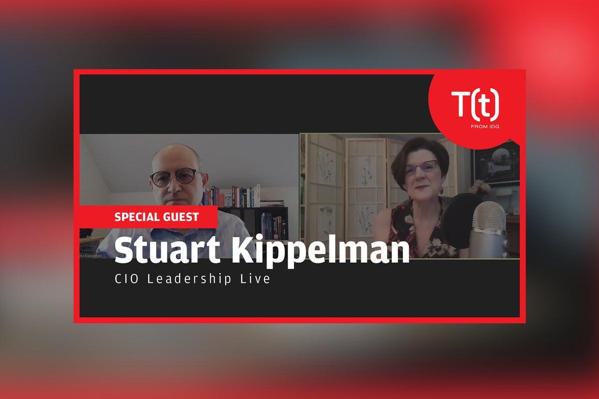 Podcast: CIO Leadership Live with Stuart Kippelman, CIO, Parsons