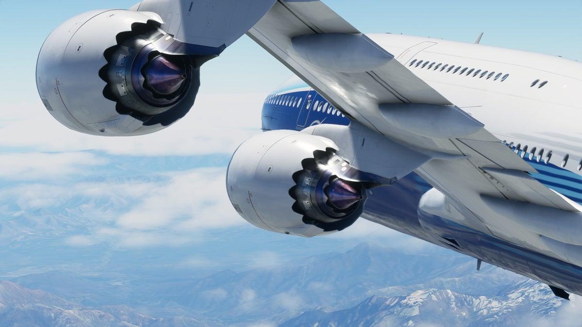 Microsoft Flight Simulator detailed aircraft