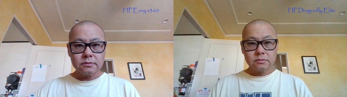 hp envy x360 webcam vs hp dragonfly elite x360