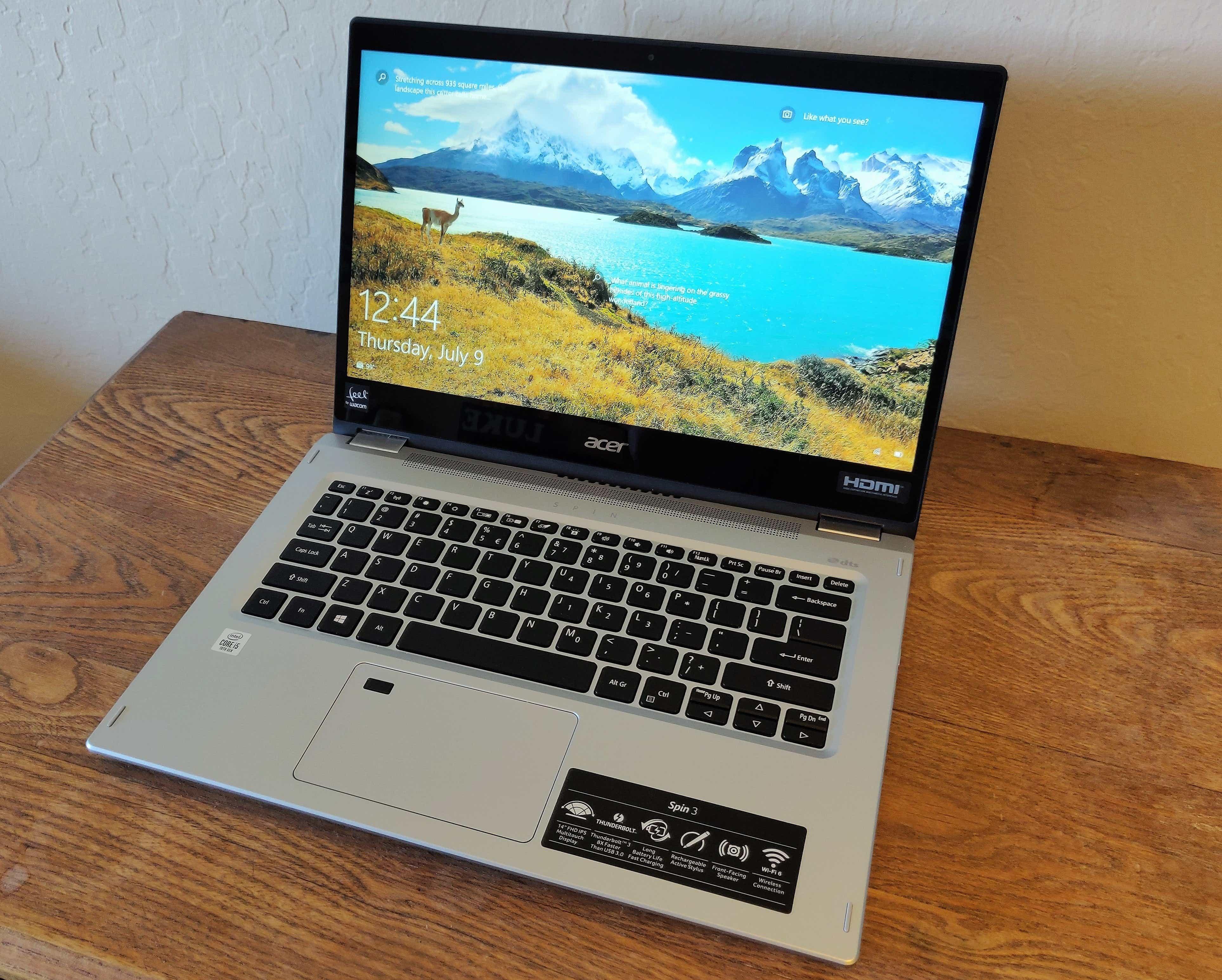 Acer Spin 3 SP314-54N-58Q7 – Best Under $700