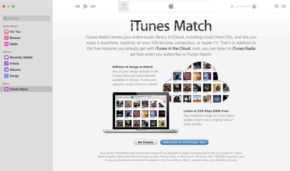 itunes match catline