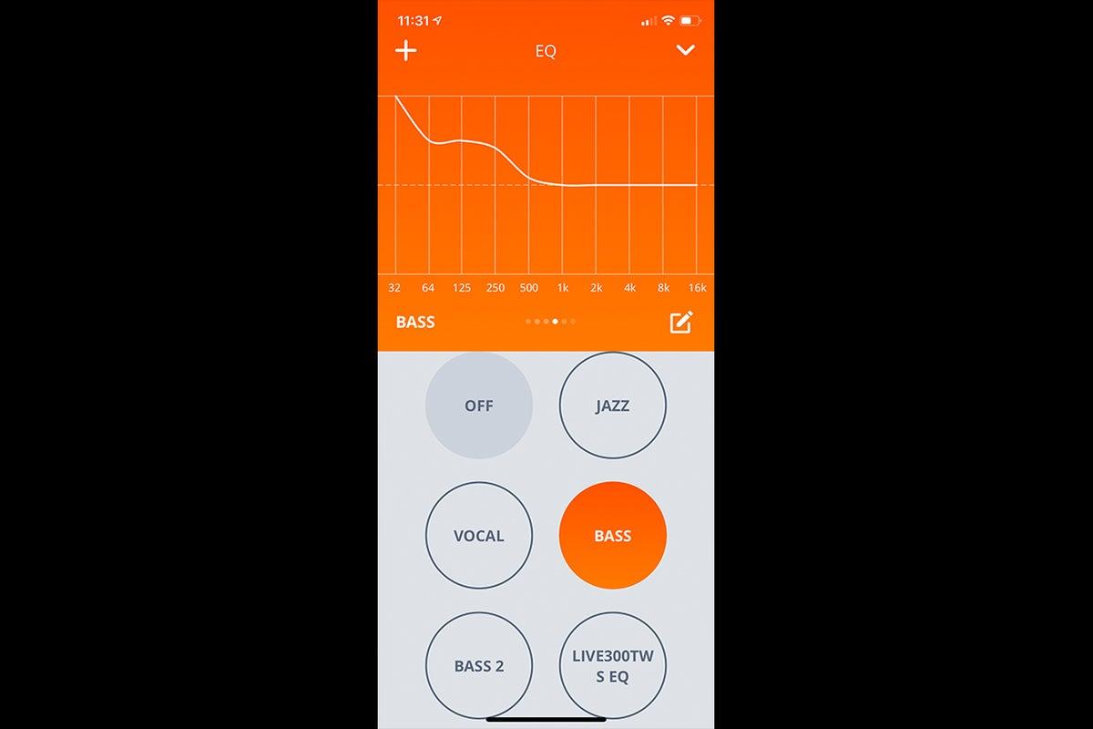 jbl live 300tws JBL app screenshot