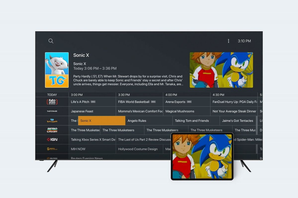 live tv on plex hero