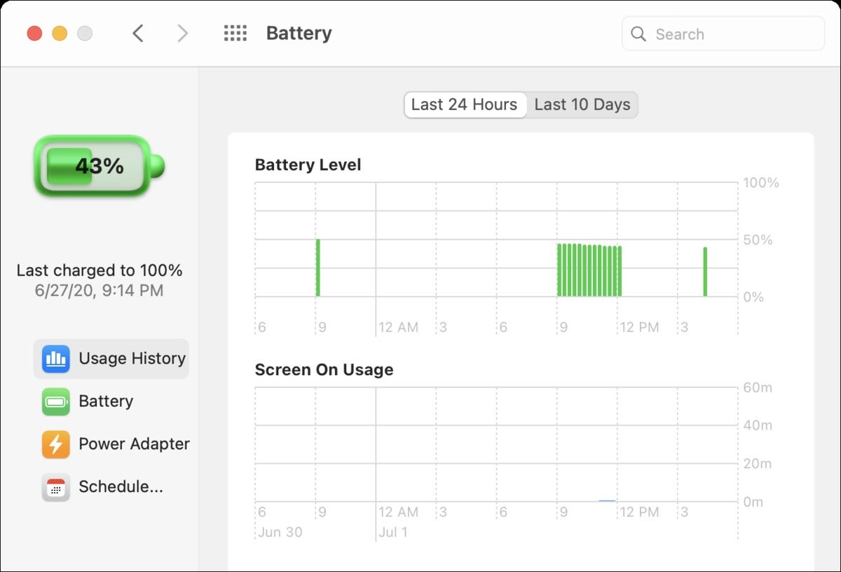 mac911 big sur battery usage