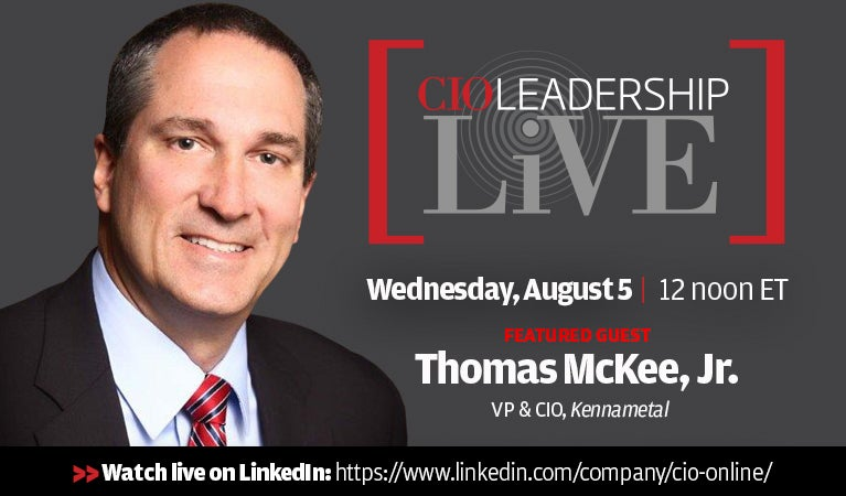 CIO Leadership Live, August 5