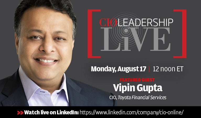 CIO Leadership Live, August 17