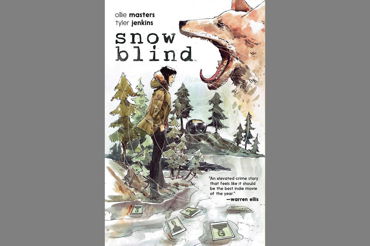 snowblind graphic novel
