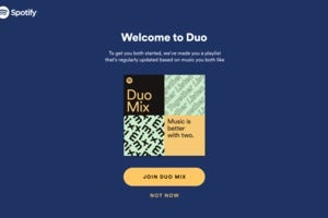 spotify premium duo welcome page
