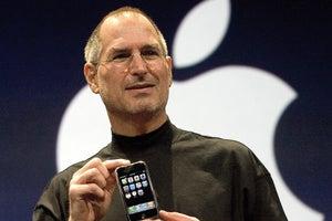 steve jobs iphone launch 100702931
