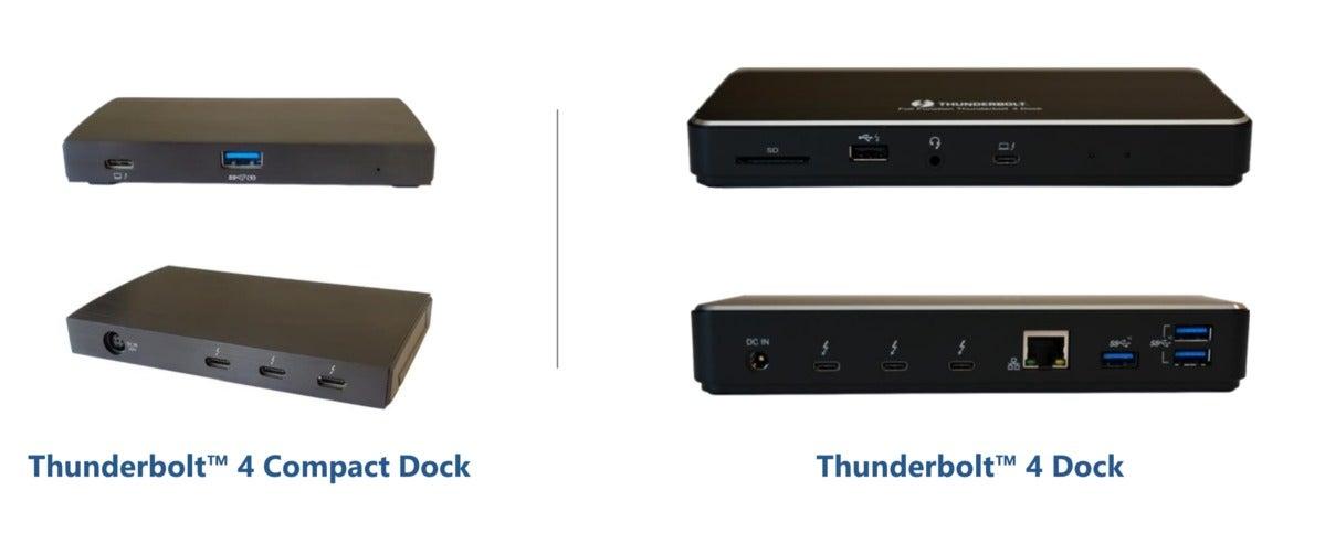 thunderbolt 4 docks intel