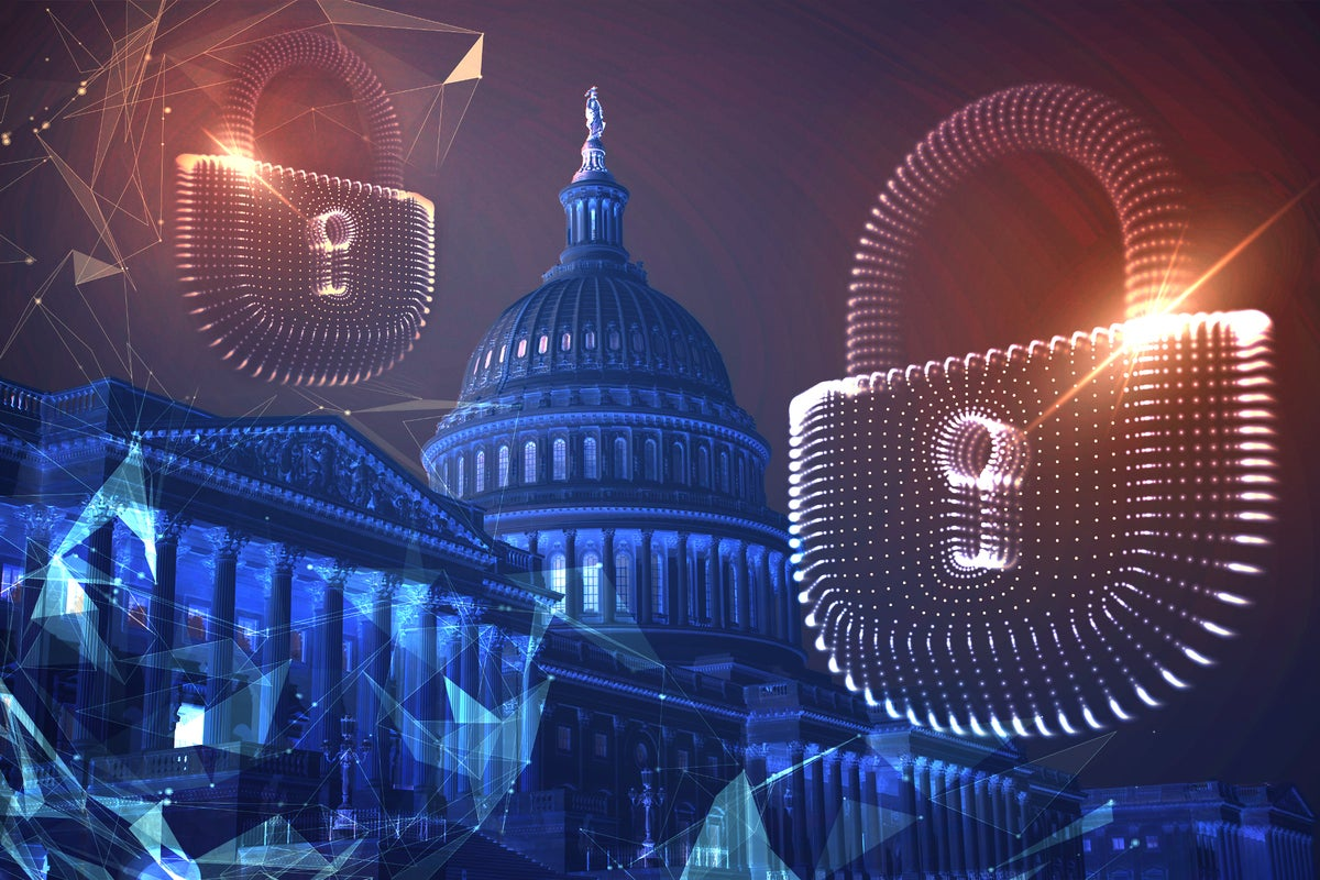 United States Capitol building / United States Congress / abstract security concept