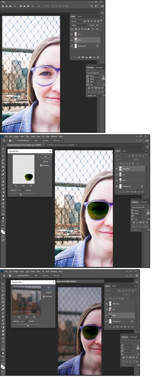 04 photoshops gaussian blur is the favorite