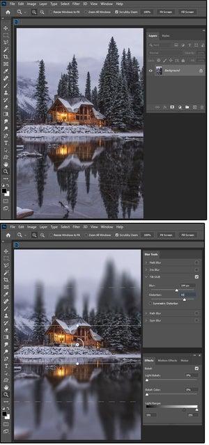 04 tilt shift blur alters perspective