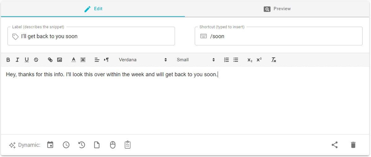 05 gmail templates text blaze