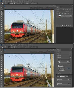 05 path blur create a blurred path of motion