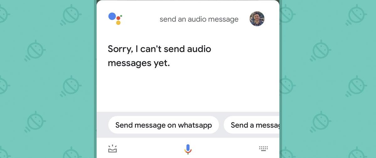 Mensajes de audio del asistente