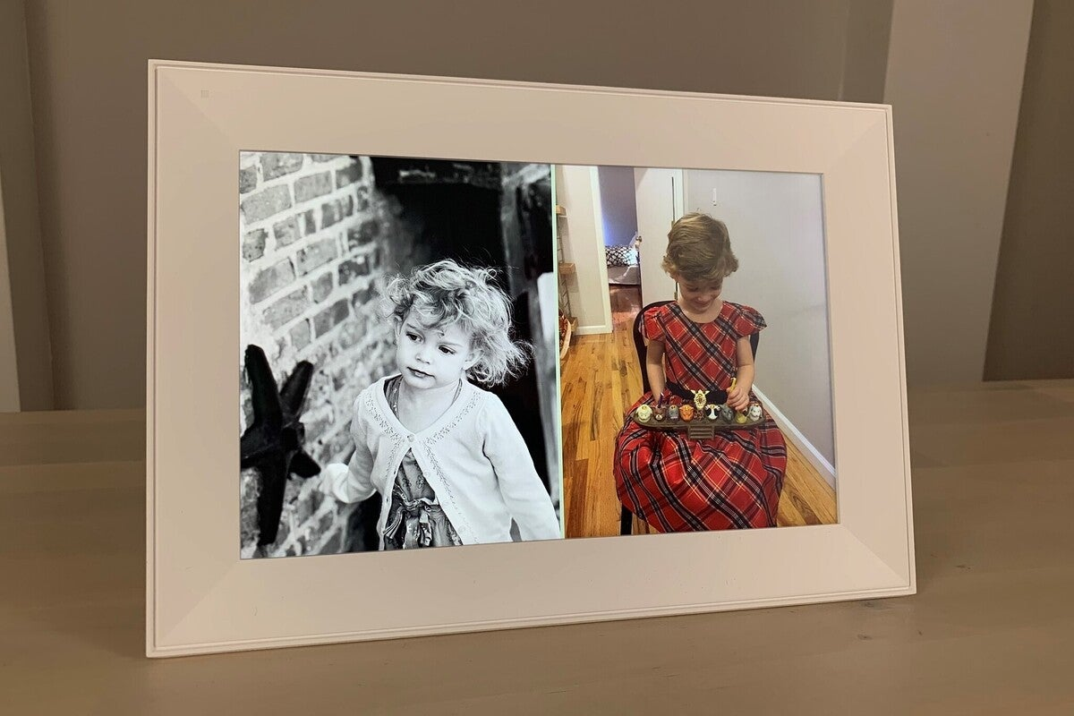aura carver photo frame ai pairing