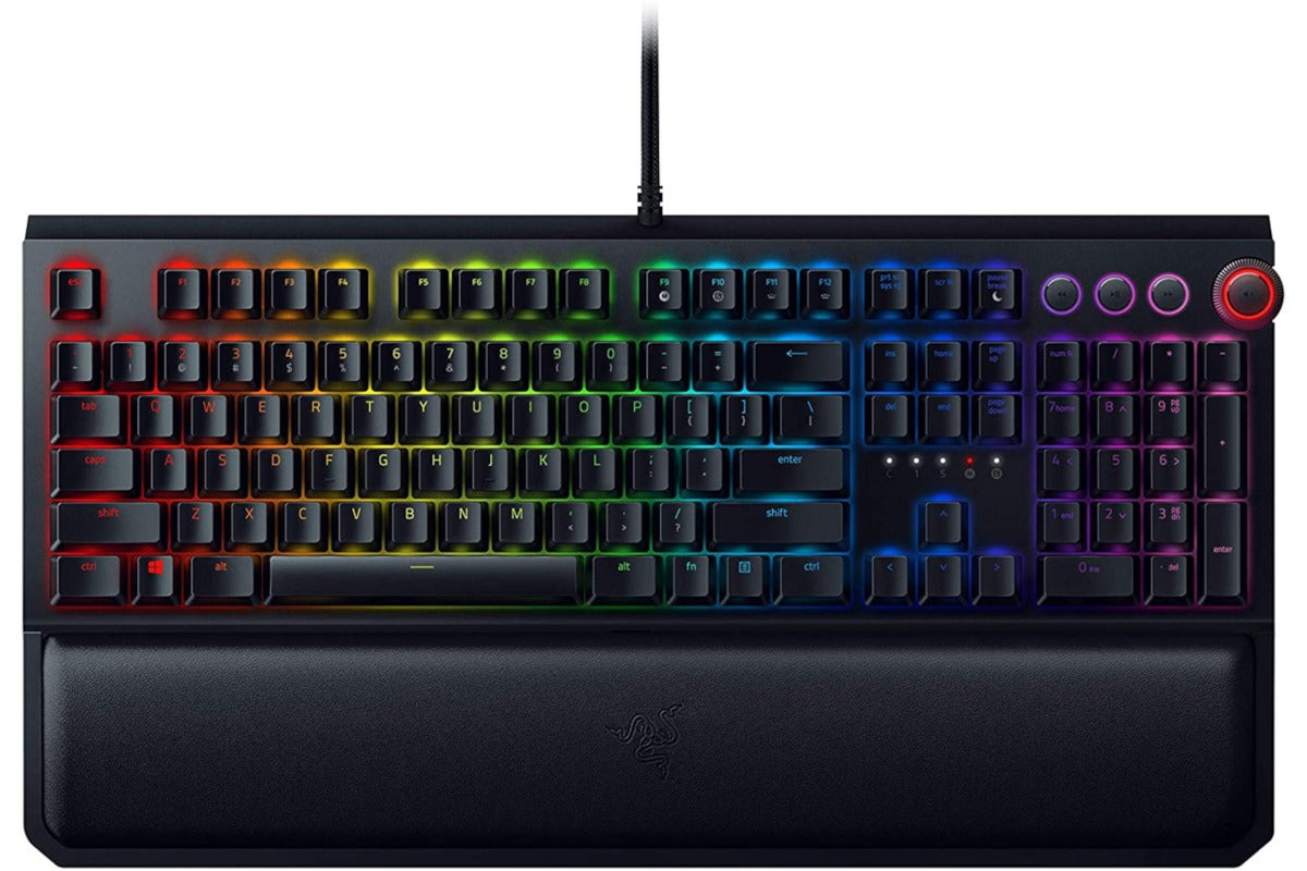 Master Cyperpunk 2077 with the Razer BlackWidow Elite keyboard for