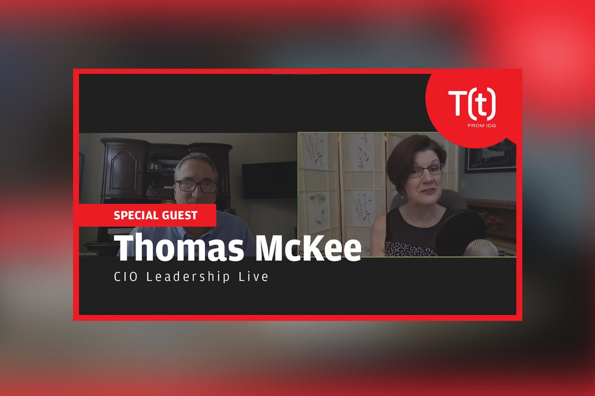 Podcast: CIO Leadership Live with Thomas McKee, Jr., VP and CIO at Kennametal