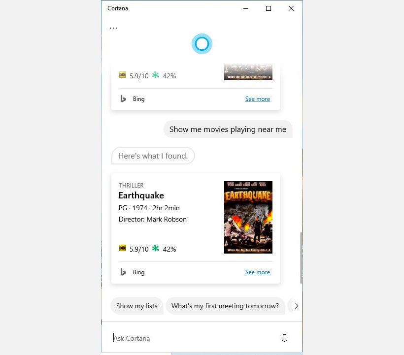 Cortana tips 1 pregunta respuesta