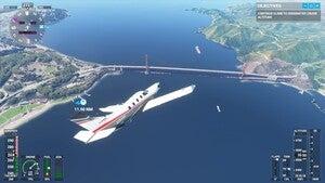 flight simulator golden gate