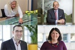 From top to bottom, clockwise:Alison FitzGerald - London City Airport COO; Fraser Ingram, group COO