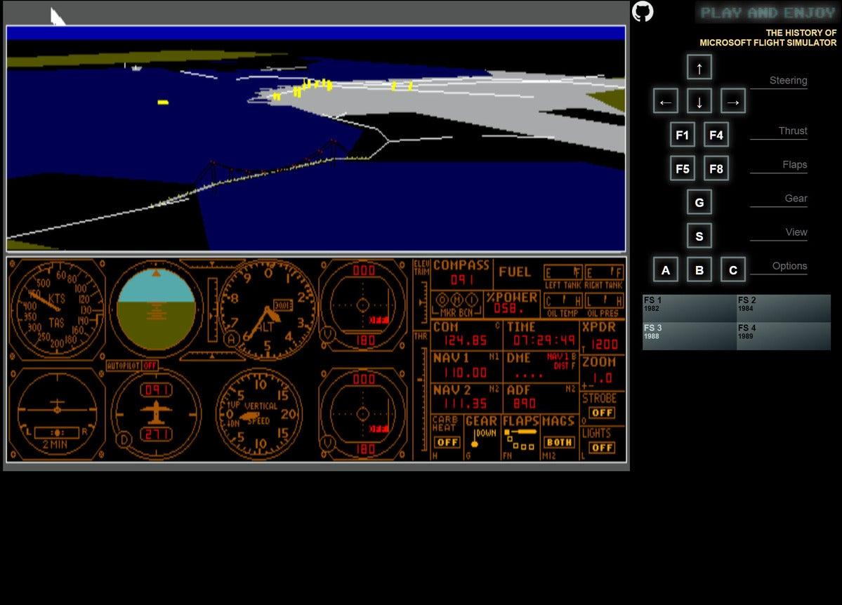 fs 1984 lear jet golden gate bridge