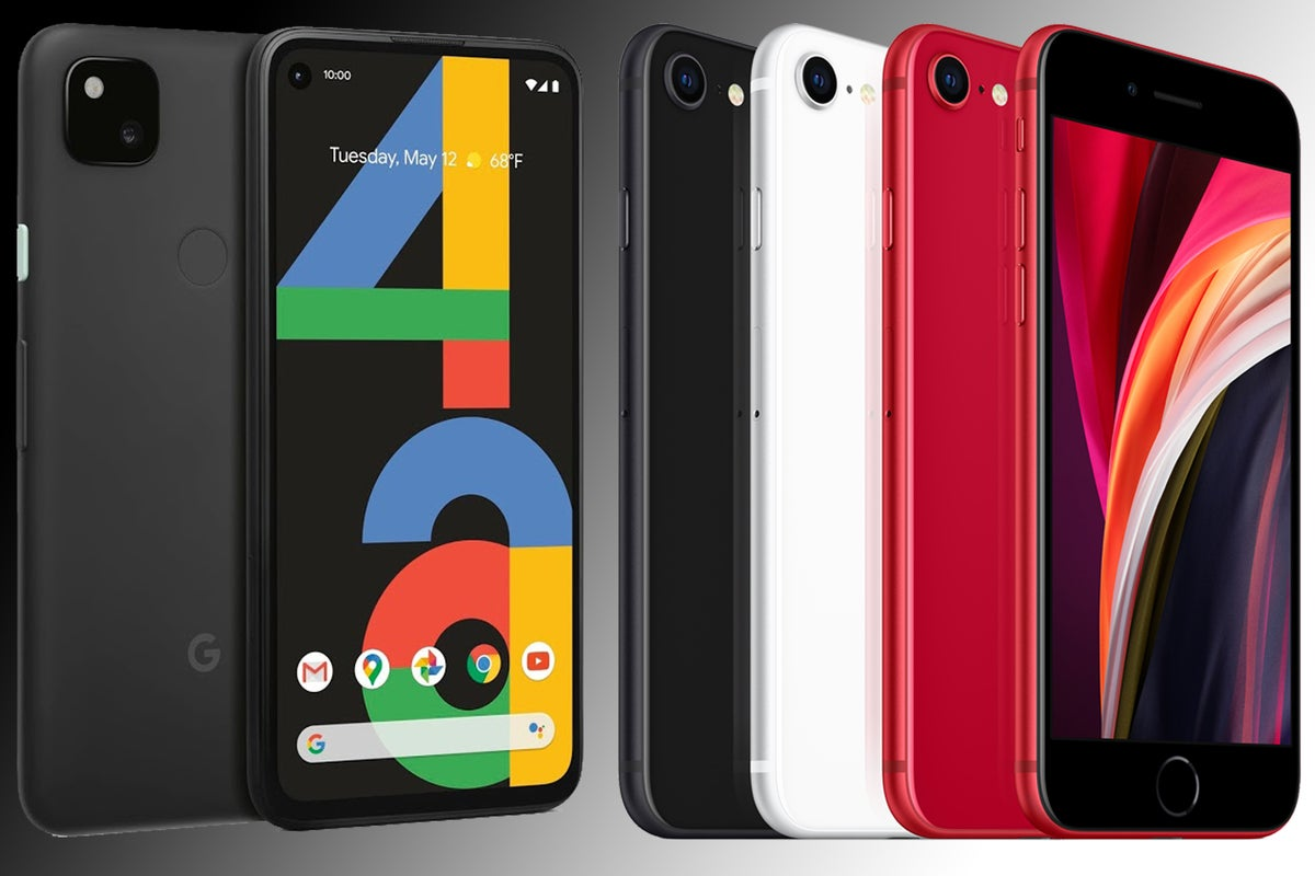 Google Pixel 4a vs iPhone SE: Can a cheap Android handset beat Apple's best-ever budget iPhone? thumbnail