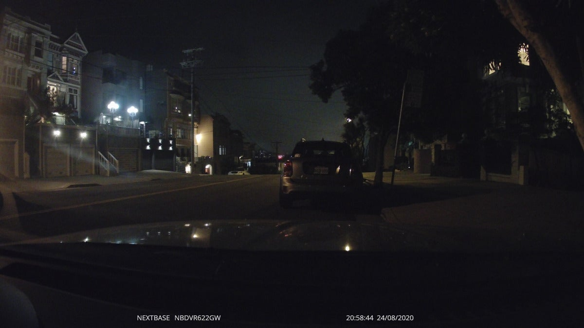 nextbase 622gw night