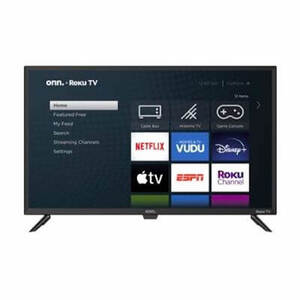 onn. 32  class 720p hd led roku smart tv 1