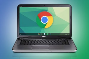 pcw old laptop chromebook logo