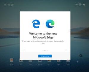 20h2 new edge intro screen windows 10 microsoft