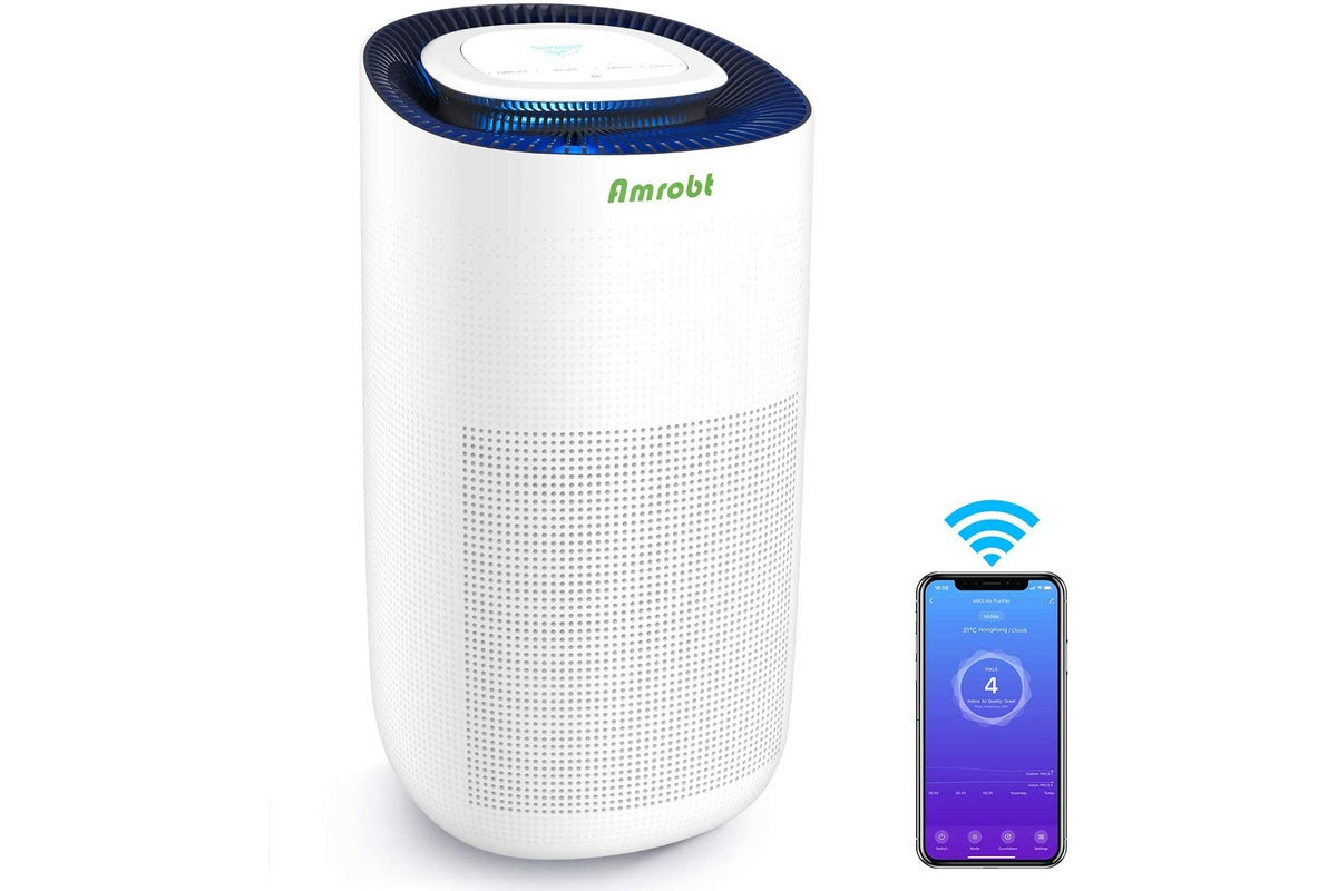Amrobt MAX HEPA11 Air Purifier review: Cleaner air is just a click away