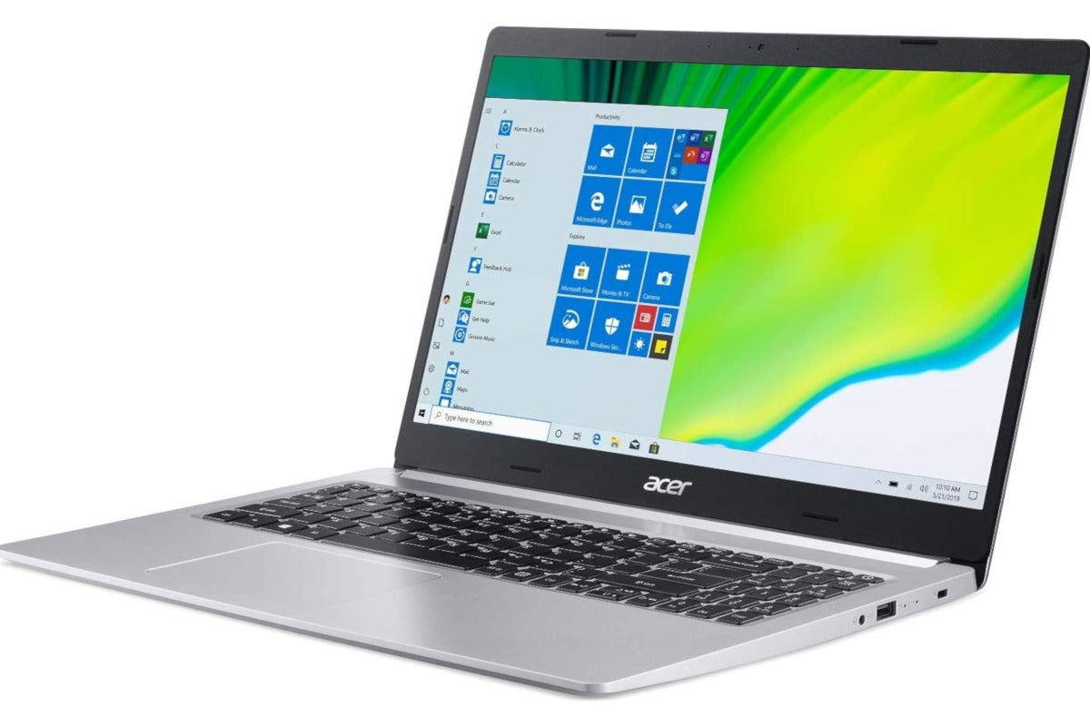 Acer S Ryzen Powered Aspire 5 Laptop Falls Under 550 For The First Time Pcworld