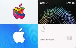 apple card cash gift card