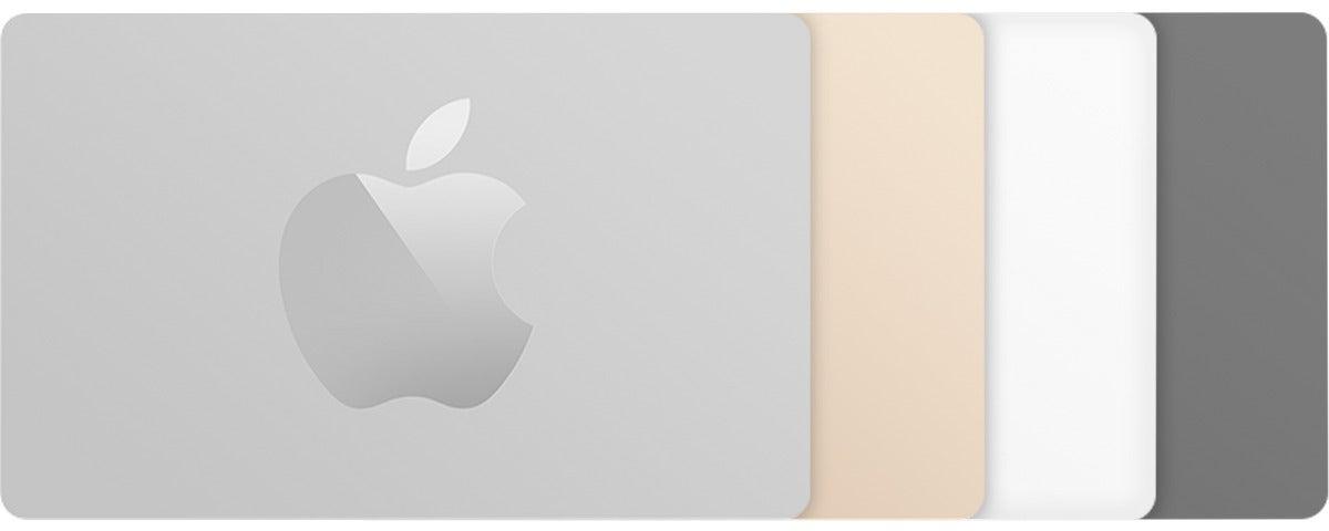 apple corp gift card art
