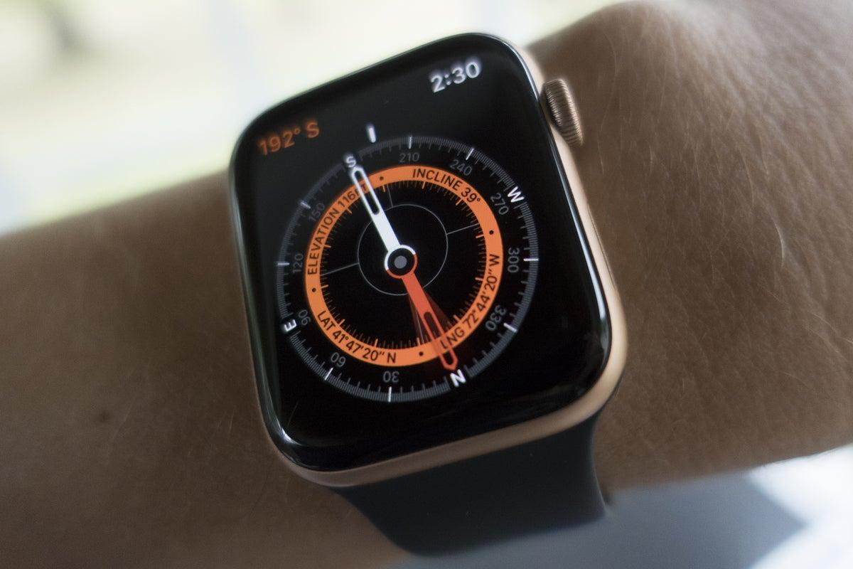 apple watch se compass