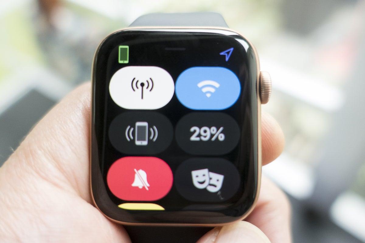 apple watch se settings