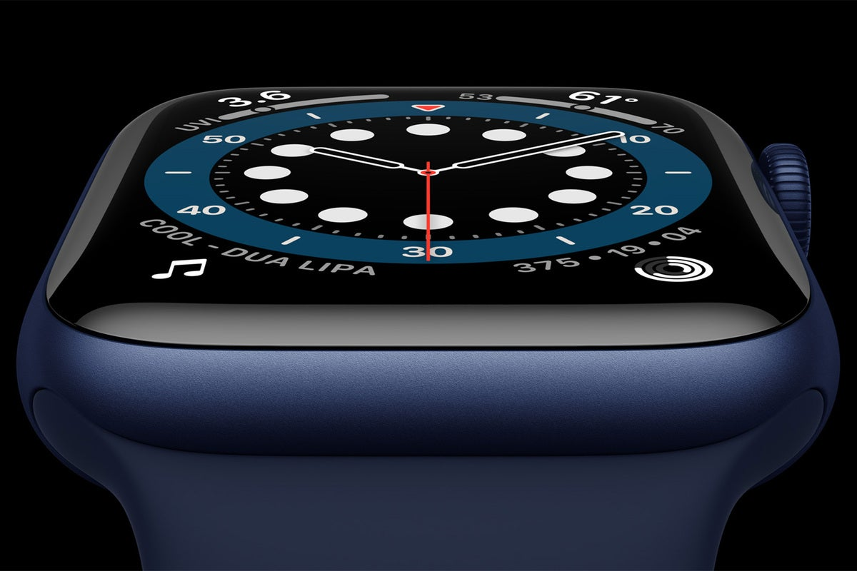 apple watch series 6 blue