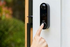 arlo essential wire free video doorbell 1