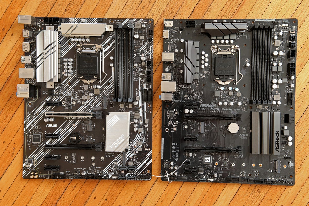 Asus and Asrock ATX12VO motherboards