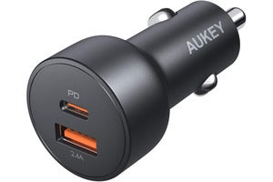 aukeydualportcharger