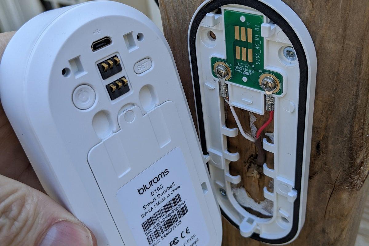 blurams smart doorbell exposed