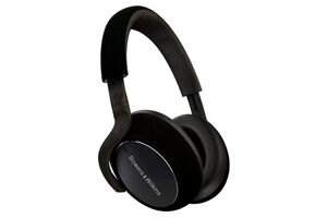 bw px7 carbon edition bluetooth headphones side view
