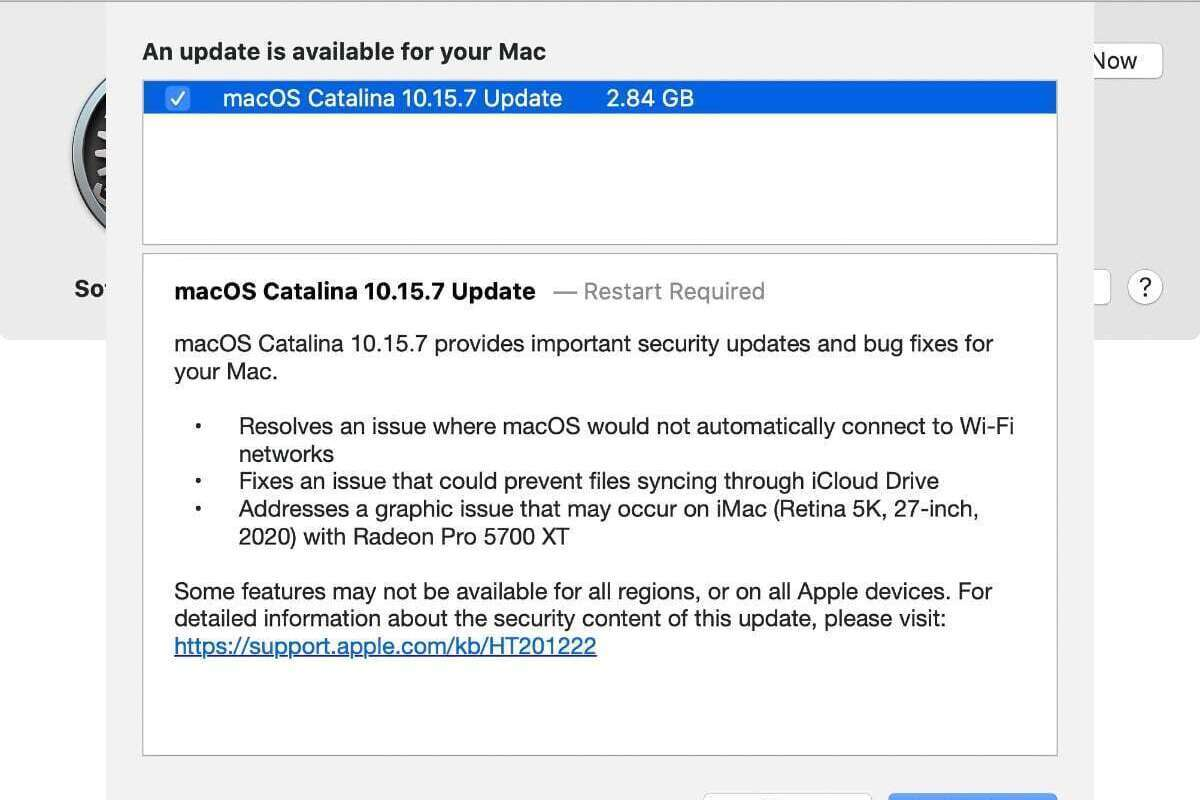catalina 10157 update notes
