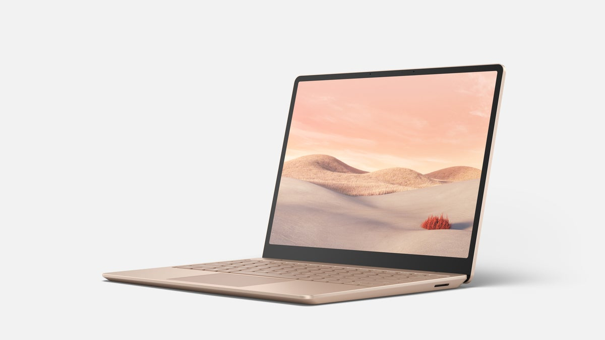 Microsoft Surface Laptop Go sandstone